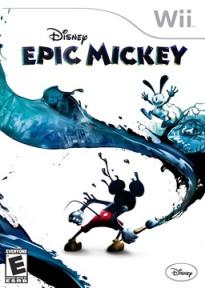 Capa de Epic Mickey (Wii)