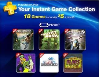 Jogos de Vita na PSN Plus